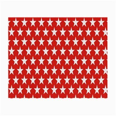 Star Christmas Advent Structure Small Glasses Cloth by Onesevenart