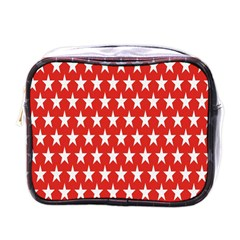 Star Christmas Advent Structure Mini Toiletries Bags by Onesevenart