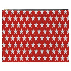 Star Christmas Advent Structure Cosmetic Bag (xxxl)  by Onesevenart