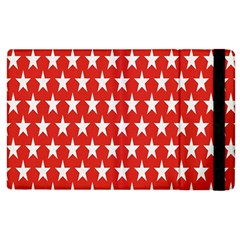 Star Christmas Advent Structure Apple Ipad 2 Flip Case by Onesevenart