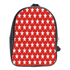 Star Christmas Advent Structure School Bag (xl) by Onesevenart