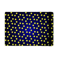 Star Christmas Red Yellow Apple Ipad Mini Flip Case by Onesevenart