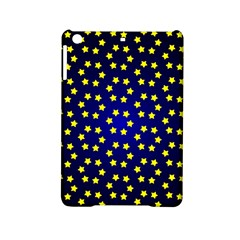 Star Christmas Red Yellow Ipad Mini 2 Hardshell Cases by Onesevenart