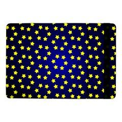Star Christmas Red Yellow Samsung Galaxy Tab Pro 10 1  Flip Case by Onesevenart