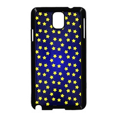 Star Christmas Red Yellow Samsung Galaxy Note 3 Neo Hardshell Case (black) by Onesevenart