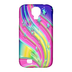 Star Christmas Pattern Texture Samsung Galaxy S4 Classic Hardshell Case (pc+silicone) by Onesevenart