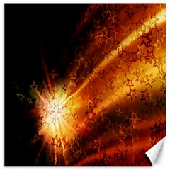 Star Sky Graphic Night Background Canvas 16  X 16   by Onesevenart