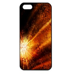 Star Sky Graphic Night Background Apple Iphone 5 Seamless Case (black) by Onesevenart