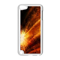 Star Sky Graphic Night Background Apple Ipod Touch 5 Case (white) by Onesevenart