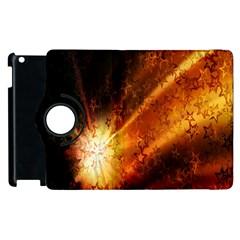 Star Sky Graphic Night Background Apple Ipad 2 Flip 360 Case by Onesevenart