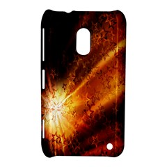 Star Sky Graphic Night Background Nokia Lumia 620 by Onesevenart