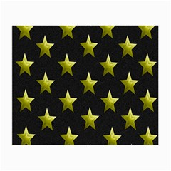 Stars Backgrounds Patterns Shapes Small Glasses Cloth (2 Side) by Onesevenart