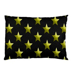 Stars Backgrounds Patterns Shapes Pillow Case by Onesevenart