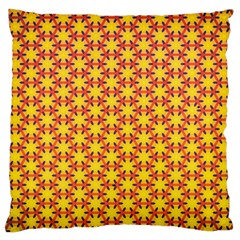 Texture Background Pattern Large Cushion Case (one Side) by Onesevenart