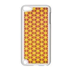 Texture Background Pattern Apple Ipod Touch 5 Case (white) by Onesevenart