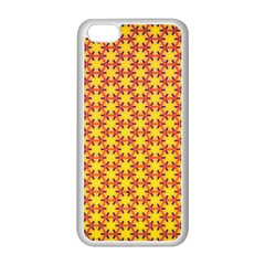 Texture Background Pattern Apple Iphone 5c Seamless Case (white) by Onesevenart
