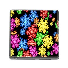 Wallpaper Background Abstract Memory Card Reader (square) by Onesevenart