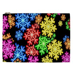 Wallpaper Background Abstract Cosmetic Bag (xxl)  by Onesevenart