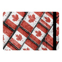 Canadian Flag Motif Pattern Apple Ipad Pro 10 5   Flip Case by dflcprints
