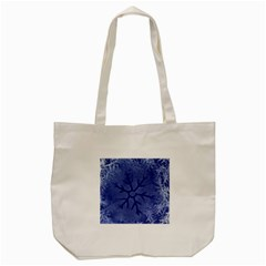 Winter Hardest Frost Cold Tote Bag (cream) by Onesevenart