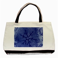 Winter Hardest Frost Cold Basic Tote Bag by Onesevenart