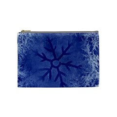 Winter Hardest Frost Cold Cosmetic Bag (medium)  by Onesevenart