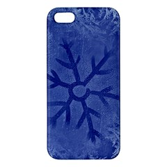Winter Hardest Frost Cold Iphone 5s/ Se Premium Hardshell Case by Onesevenart