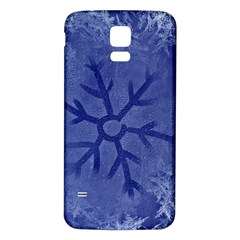 Winter Hardest Frost Cold Samsung Galaxy S5 Back Case (white) by Onesevenart