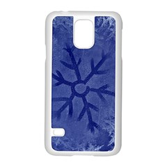 Winter Hardest Frost Cold Samsung Galaxy S5 Case (white) by Onesevenart
