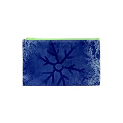 Winter Hardest Frost Cold Cosmetic Bag (xs) by Onesevenart