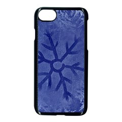 Winter Hardest Frost Cold Apple Iphone 7 Seamless Case (black) by Onesevenart