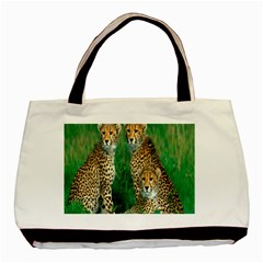 Animals Cheetah Basic Tote Bag (two Sides) by Jojostore