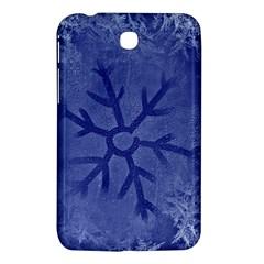 Winter Hardest Frost Cold Samsung Galaxy Tab 3 (7 ) P3200 Hardshell Case  by Onesevenart