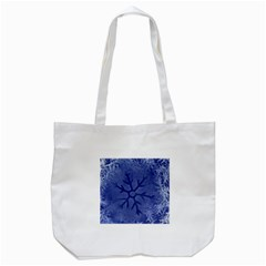 Winter Hardest Frost Cold Tote Bag (white) by Onesevenart