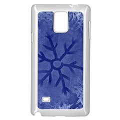 Winter Hardest Frost Cold Samsung Galaxy Note 4 Case (white) by Onesevenart
