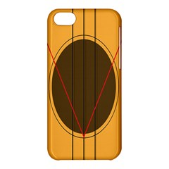 Guitar Picking Tool Line Tone Music Apple Iphone 5c Hardshell Case by Jojostore