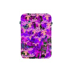 Watercolour Paint Dripping Ink Apple Ipad Mini Protective Soft Cases by Onesevenart
