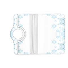 The Background Snow Snowflakes Kindle Fire Hd (2013) Flip 360 Case by Onesevenart