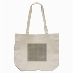 Grey Black Line Polka Dots Tote Bag (cream)