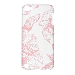 Vintage Pink Floral Apple Ipod Touch 5 Hardshell Case by 8fugoso
