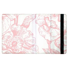 Vintage Pink Floral Apple Ipad 3/4 Flip Case by 8fugoso