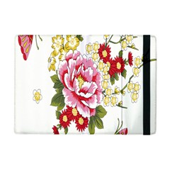 Butterfly Flowers Rose Apple Ipad Mini Flip Case by Jojostore