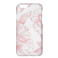 Vintage Pink Floral Apple Iphone 6 Plus/6s Plus Hardshell Case by 8fugoso