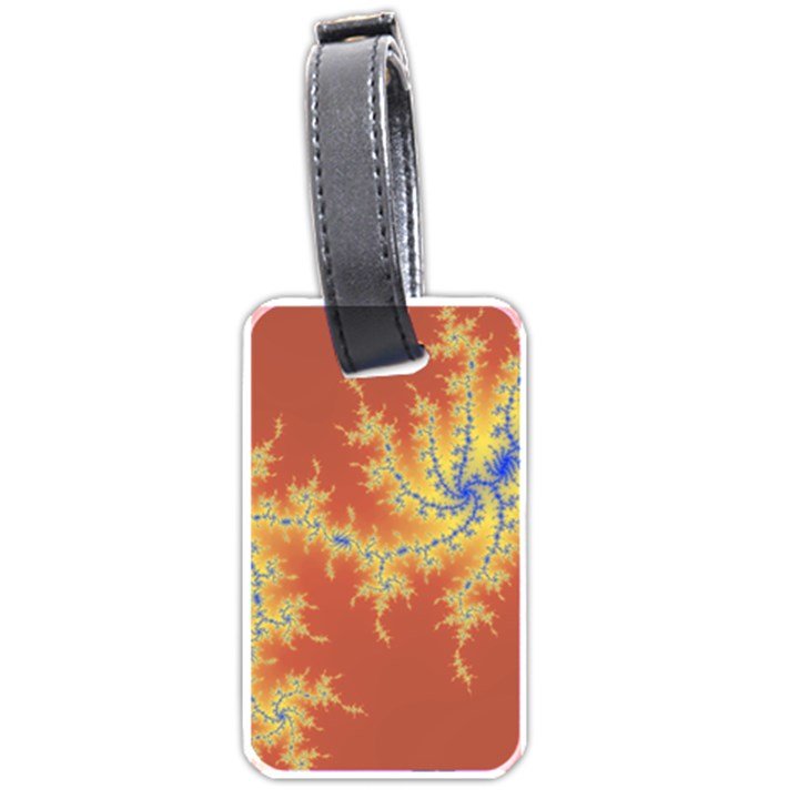 fractals Luggage Tags (One Side)