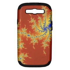 Fractals Samsung Galaxy S Iii Hardshell Case (pc+silicone) by 8fugoso