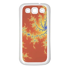 Fractals Samsung Galaxy S3 Back Case (white) by 8fugoso