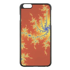 Fractals Apple Iphone 6 Plus/6s Plus Black Enamel Case by 8fugoso