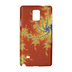 Fractals Samsung Galaxy Note 4 Hardshell Case by 8fugoso