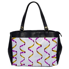 Tape Birthday Ribbon Party Yellow Purple Office Handbags by Jojostore