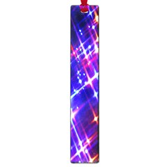 Star Light Space Planet Rainbow Sky Blue Red Purple Large Book Marks by Jojostore